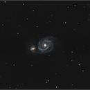M51 Whirlpool Galaxy,                                Damien ROLLET