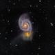 M51 - Whirlpool Galaxy - RGB,                                David Andra