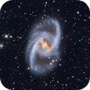 NGC 1365 The Great Barred Spiral Galaxy,                                Tom Peter AKA Astrovetteman