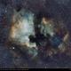 North American and Pelican Nebula,                                arvo73