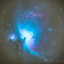 M42 - Orion's Nebula,                                breid