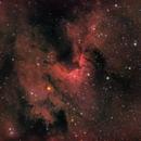 Cave Nebula H-RGB,                                Peppe.ct