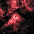 Eta Carina Nebula in HaLRGB,                                Richard Bratt
