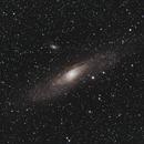 M31 - First Light for my Askar FMA180,                                Mattes