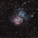 Trifid Nebula NGC 6514,                                chaosrand