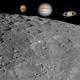 Moon & 3 planets,                                Mason Chen