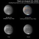 Mars on August 25, 2020,                                JDJ