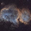 Soul Nebula mosaic in SHO (IC1848),                                Sven Hoffmann