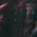 Ha & OIII bicolor Veil Nebula,                                Steve Cooper