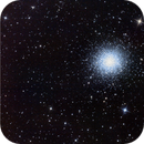 Messier 13 (Crop) Optictest after mirrorcleaning, flocking and collimation,                                Anton Karl Seewal...