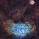 Mosaique M8-M20 SHO,                                astromat89
