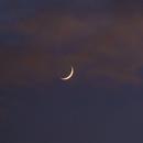 Moon - Jupiter - Saturn Conjunction 17/12/2020,                                Die Launische Diva