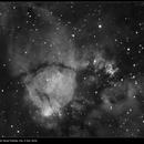 NGC 896, Fish Head Nebula, Hα, 9 Nov 2016,                                David Dearden