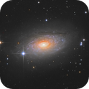 Messier 63,                                Станция Албирео