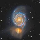 M51 - The Whirlpool Galaxy,                                Jason Wiscovitch