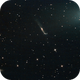 Comet P 45 and Whale Galaxy,                                GALASSIA 60