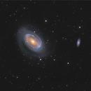 NGC4725,                                Aurélien CHAPRON