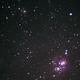 Lagoon and Trifid Nebulae Untracked,                                Rohan