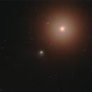 Looking at a brighter light - Catalina gazes at Arcturus,                                Tony Cook