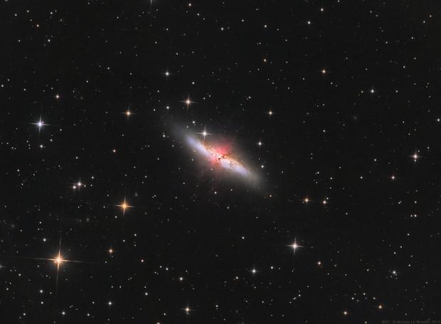M82 with ha,                                Le Mouellic Guill...