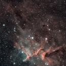 Melotte 15 cluster inside the Heart Nebula,                                Frank Kane