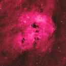 NGC 1893 - Tadpole Nebula in Ha-LRGB,                                equinoxx