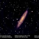 NGC 253 Galaxia del escultor,                                Lucas Herrero Barrasa