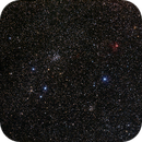 NGC 1528 + 1513 + 1545 + 1491 in Perseus,                                AC1000