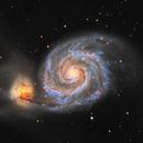27 hours of M51,                                Alex Pinkin