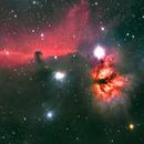 Horsehead & Flame nebulae,                                Boommutt
