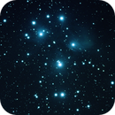 M45 - The Pleiades - Second attempt,                                Doug Gray