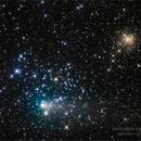 comet 21P and Messier 35,                                andrealuna