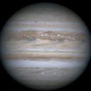 Jupiter with Io, Ganymede & Europa,                                James R Potts