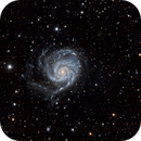 M101, NGC 5174 and PGC4545422,                                Alf Jacob Nilsen