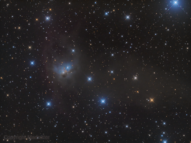 NGC 1788, The Fox Face Nebula,                                Madratter