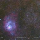 M8 M20 NGC 6544,                                PSugg