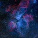 Eta Carina Nebula (NGC 3372) RGB + H-alpha,                                jerryyyyy