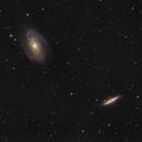 "Testing the new GSO 8"" F/4 Fotonewton: M81 / M82,                                Jonas Illner"