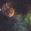 Jellyfish Nebula,                                John Michael Bellisario