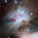 Running man nebula,                                Amir H. Abolfath
