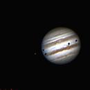 Júpiter trânsito triplo,                                bbonic