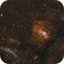 Bubble nebula and surroundings,                                  U-ranus