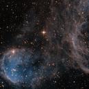 Gabriela Mistral Nebula Ha SII,                                Paul Wilcox