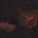 IC 1805 Heart Nebula & IC 1848 Soul Nebula,                    ThomasR