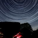 Star trails from back garden,                                DustSpeakers