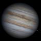 Jupiter and Europa,                                Damien Cannane
