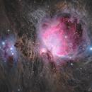 M42, M43 and the Running Man (NGC 1977),                                David Wills (Pixe...