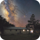 Milky Way behind my house,                                Wesley Creech