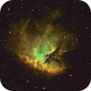 NGC281 - SHO,                                Kyle Pickett