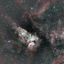 Carina Nebula Version 3,                                DJScotty